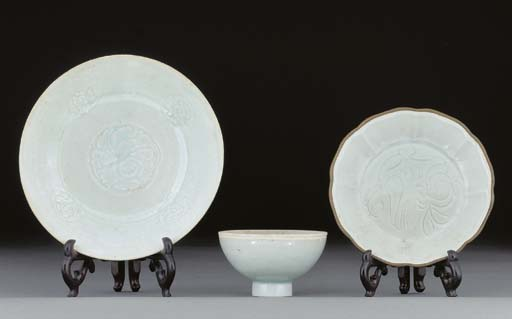 A Yingqing footed shallow dish
