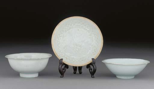 A Yingqing shallow dish, Song