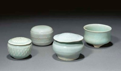 Three yingqing boxes and cover