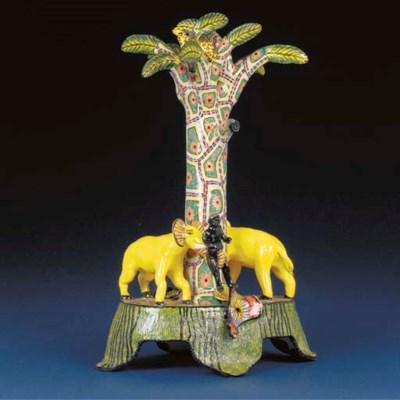 An elephant and zulu candlesti