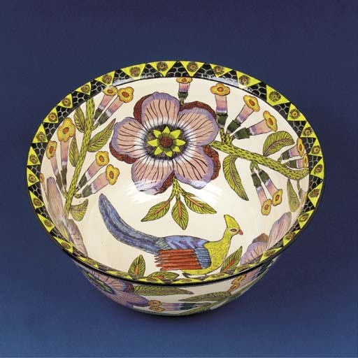 A laurie bird bowl
