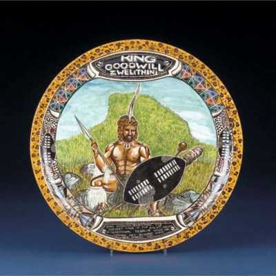 a King Goodwill plate - 2002