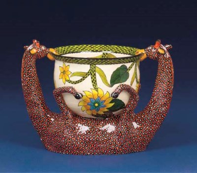 A giraffe bowl