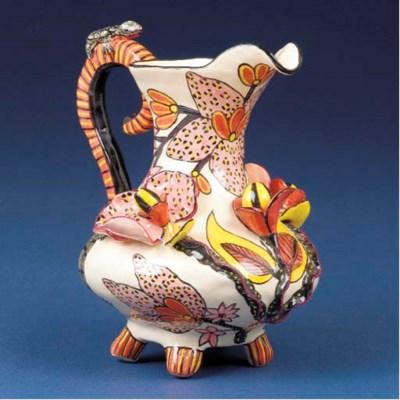 A tortoise jug