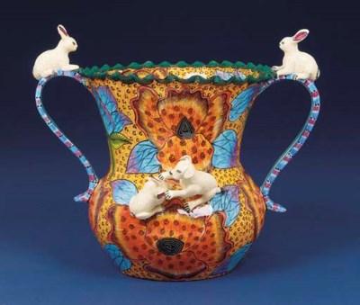 A rabbit vase