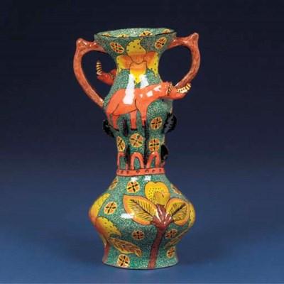An elephant vase