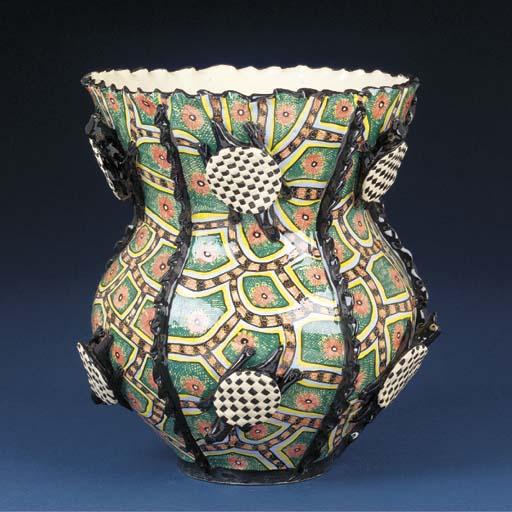 A tortoise vase