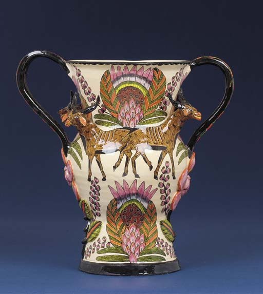 A buck vase