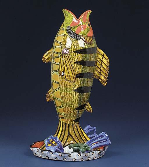 A fish vase