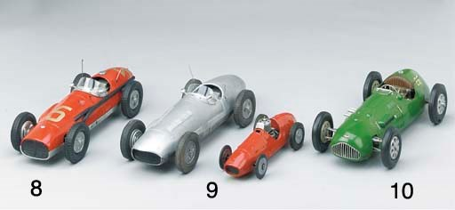 A Ferarri-style racer, based o