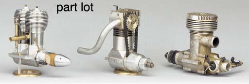 A Ross 61 glow plug engine,