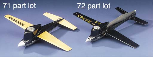 A tether-line aircraft No. 254