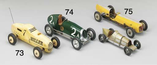 A British scratch built racer,