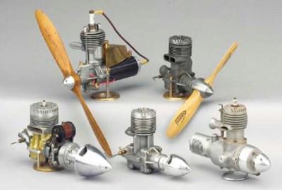 A spark ignition single cylind