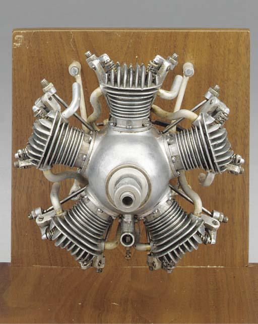 A Morton M5 five cylinder radi