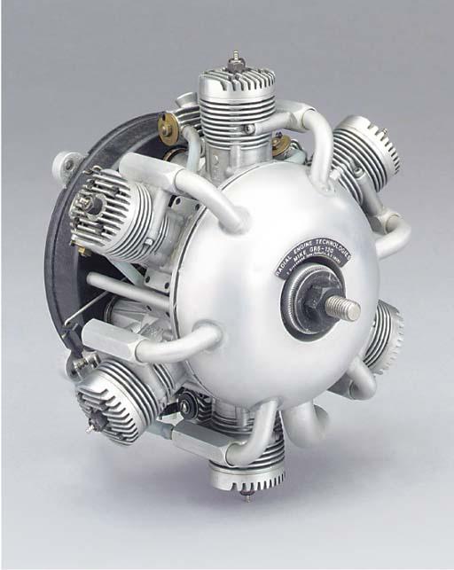 An unusual six cylinder air co