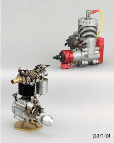 A single cylinder spark igniti
