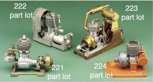 A fan cooled spark ignition en