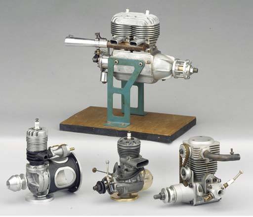 A twin cylinder two stroke 30c