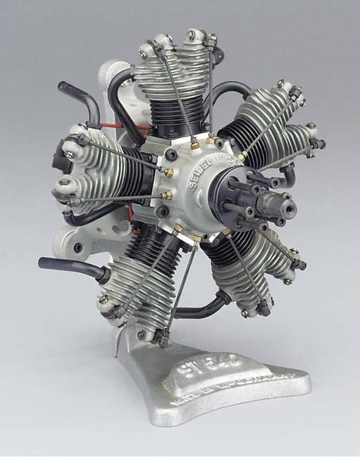 A Seidel ST540 five cylinder g