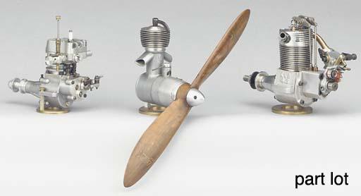 A single cylinder glow plug en