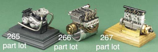 A miniature display model of a