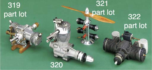A Ross 60 (10cc) horizontally