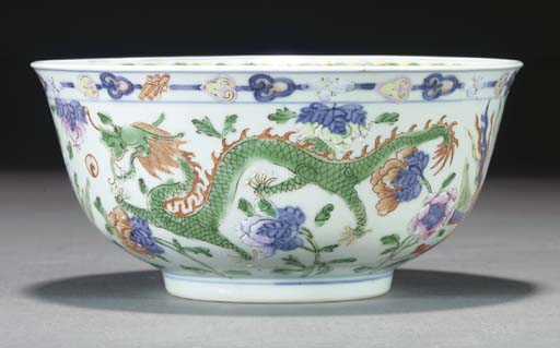 A Chinese famille rose bowl, D