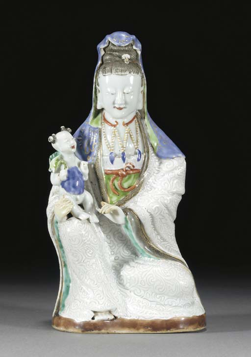 A Chinese model of Guanyin, 18