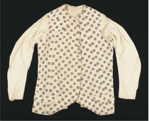 A gentleman's sleeved waistcoa