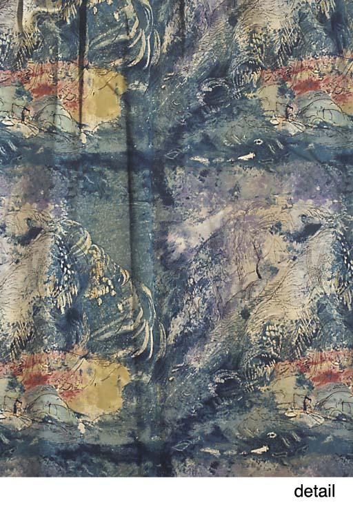 Two pairs of John Piper curtai