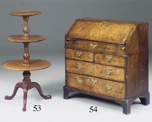 A walnut bureau