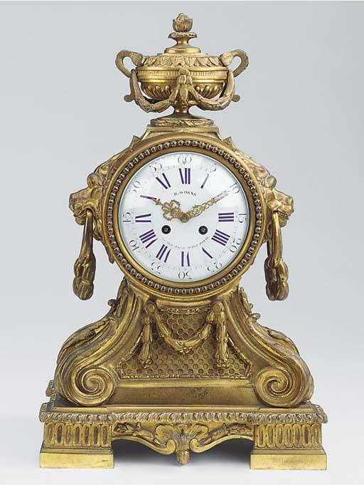A Napoleon III ormolu large st
