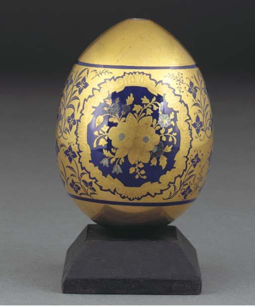 A Vienna gold-ground Easter eg