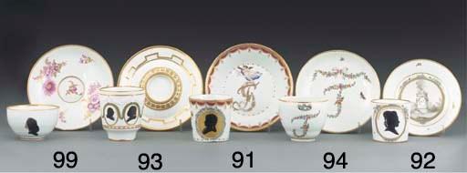 A Höchst trembleuse teacup and