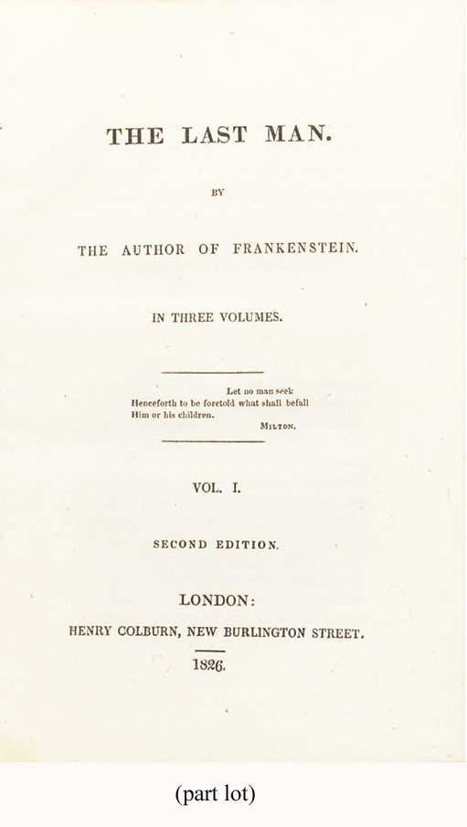 [SHELLEY, Mary Wollstonecraft