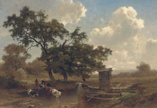 Joseph Quinaux (Belgian, 1822-