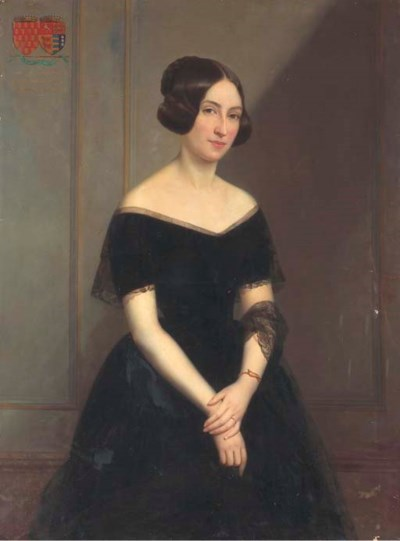 Claude-Marie Dubufe (French, 1