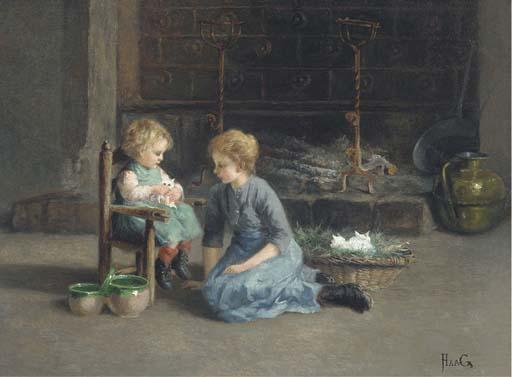 Carl Haag (German, 1820-1915)