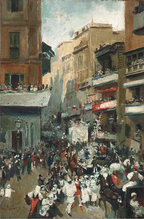 Atillio Pratella (Italian, 1856-1949)