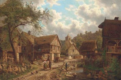 Bedrick Havranek (Czech, 1821-