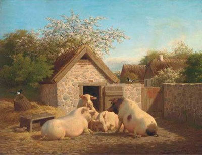 Carl Henrick Bogh (Danish, 182
