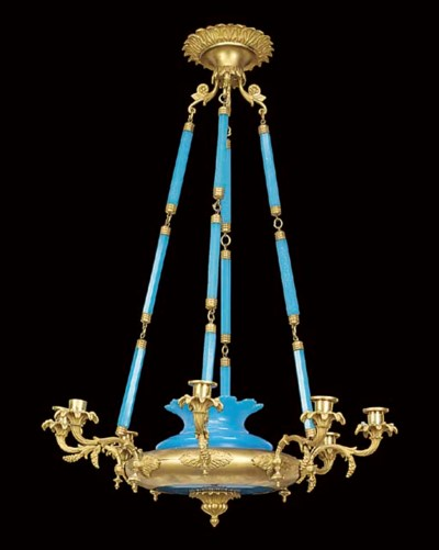 A Continental gilt bronze and