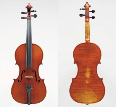 AN ENGLISH VIOLIN, WORKSHOP OF