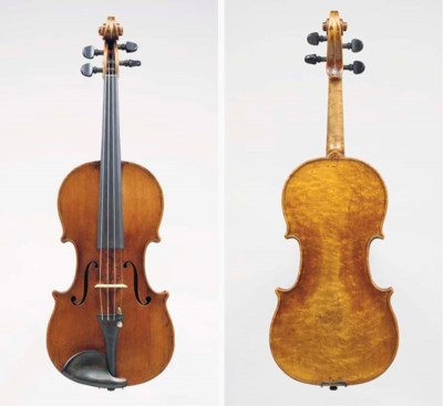 AN INTERESTING ENGLISH VIOLIN