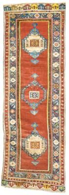 An antique Anatolian runner, T