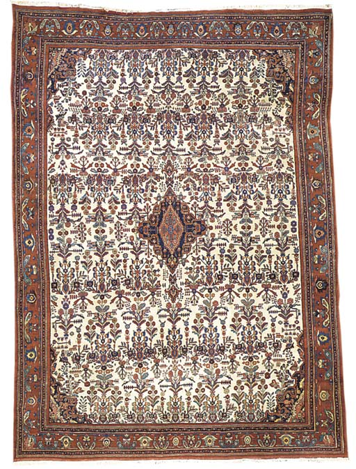 A fine Bijar carpet, North-Wes