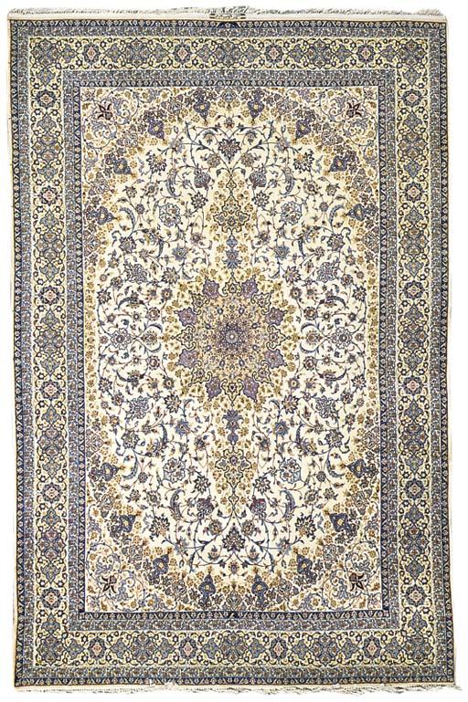 A very fine Abtin Isfahan carp
