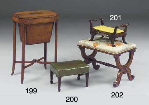 A REGENCY ROSEWOOD AND BRASS I