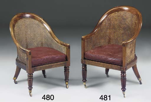 A ROSEWOOD BERGERE